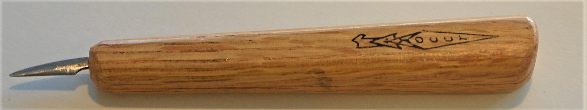 "Beginners Carving 1/2"" Mini Detail Knife."