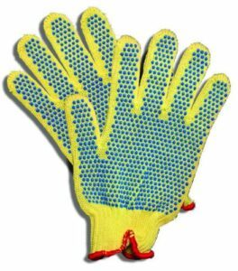 Kevlar Gloves With Rubber Gripping Dots