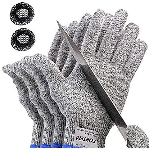 Grespri 2 Pair Mens And Womens Kevlar Gloves