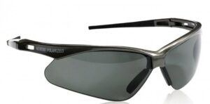 JACKSON NEMESIS V30 POLARIZED Gun Metal Safety Glasses Smoke Lens