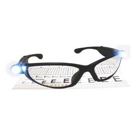 Sas lighted safety glass readers with 2.5 magnification