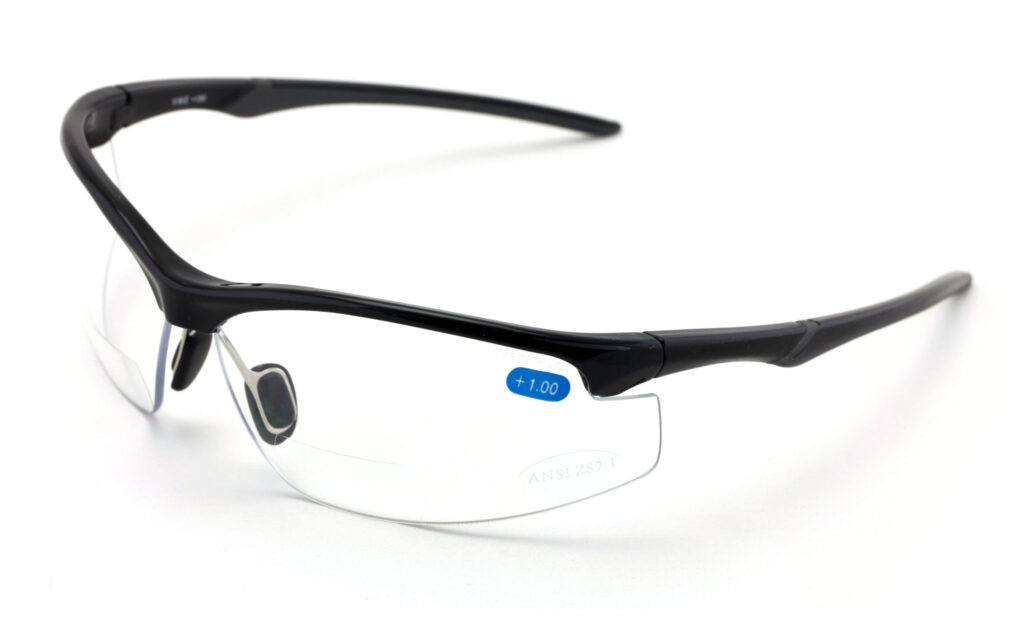 V.W.E. Bifocal Safety Glasses