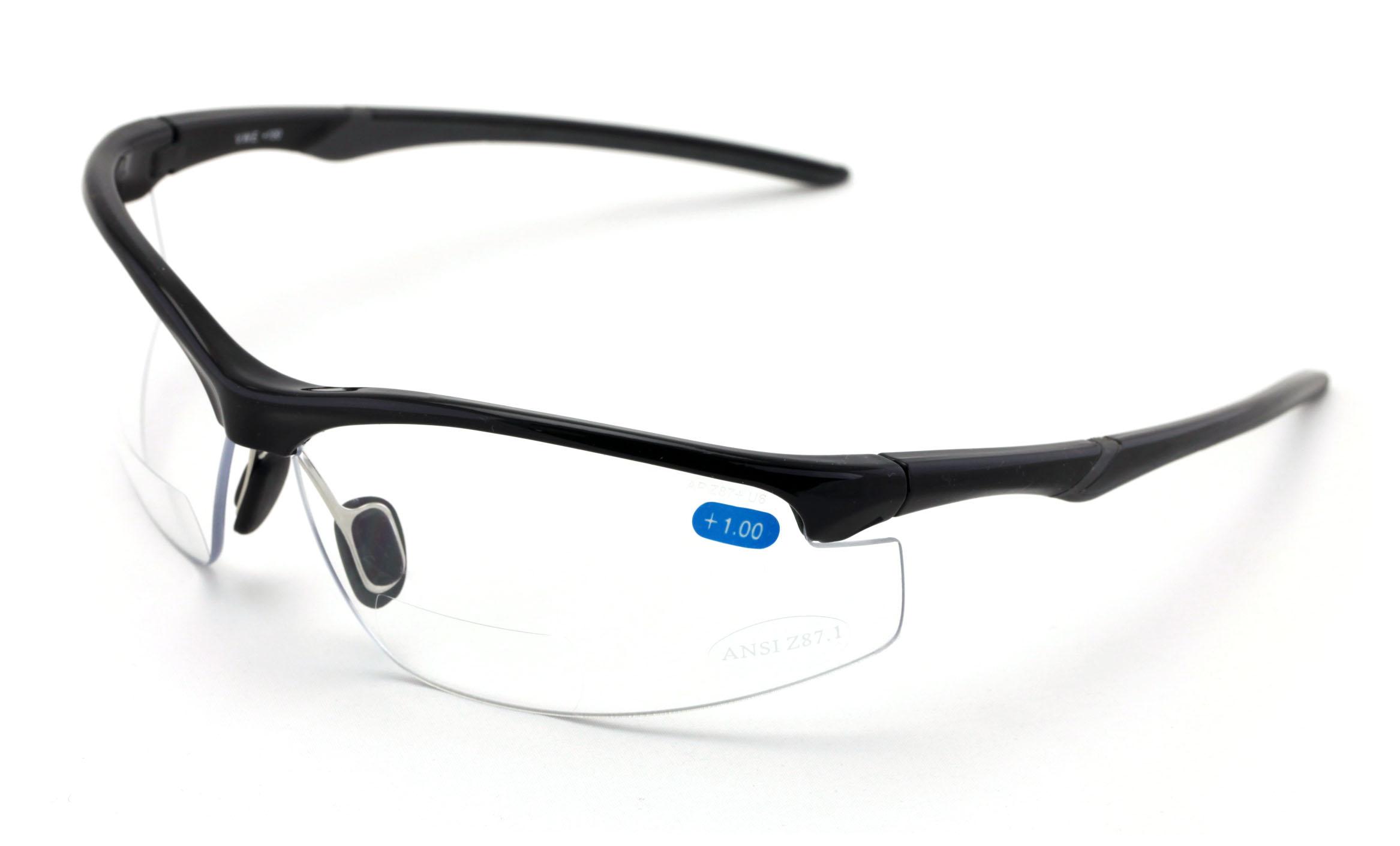 V.W.E. Bifocal Safety Glasses