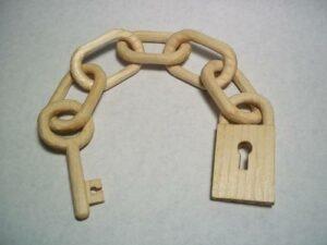 wooden links